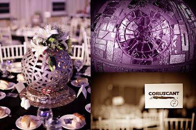 Star Wars Wedding Decorations