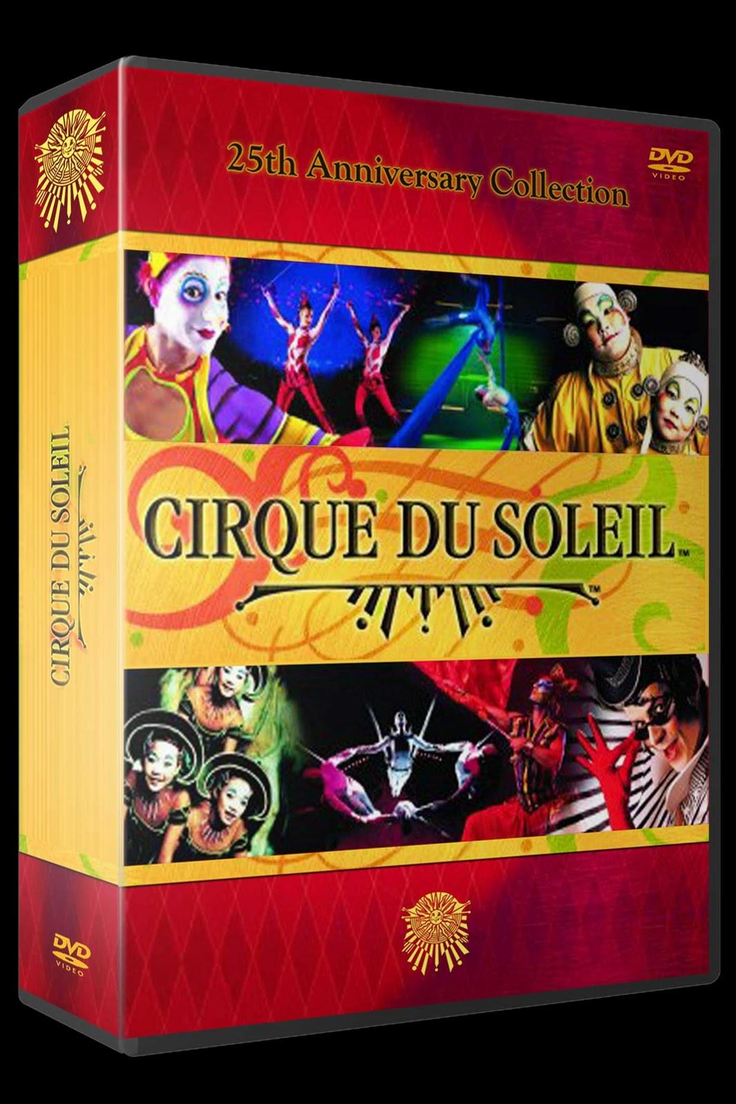 Cirque Du Soleil Dvd: PLANET DVD: CIRQUE DU SOLEIL 25 ANNIVERSARY COLLECTION