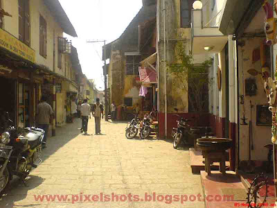 old jew street of mattancherry cochin kerala