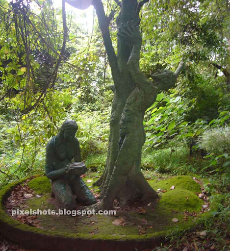 Thenmala Ecotourism: Sculpture Garden @ Thenmala Eco Tourism Leisure Zone