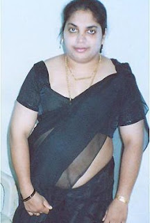 Desi Mallu Matured Fat Saree Aunty Round Fleshy Belly Show Picture