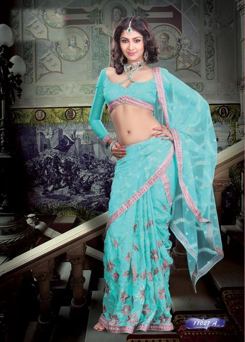 Desi Masala Saree Aunty Sexy Saree Bhabhi Revealing Her -5804