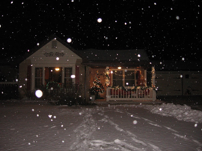 A Winter Scene at Applestone Cottage