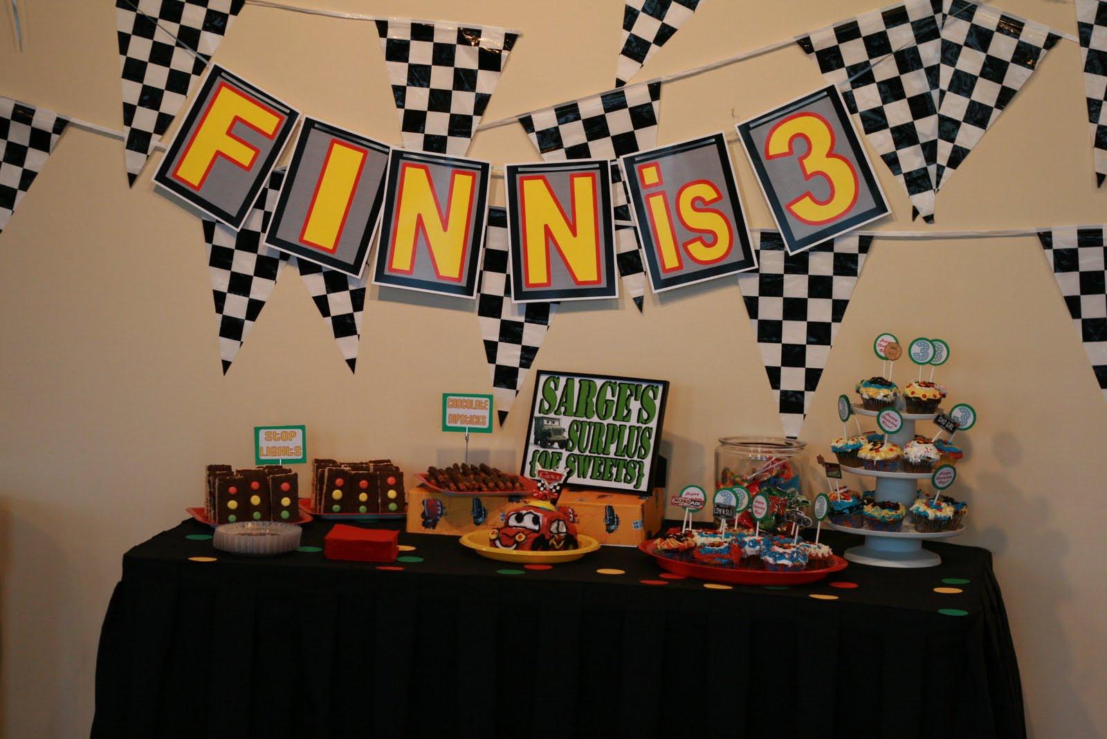 Disney Cars Birthday Party! | {So Wonderful, So Marvelous}
