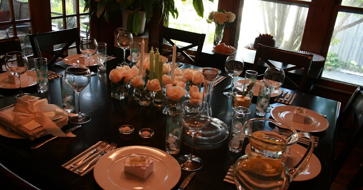 Birthday Dinner For Eight And A Midget So Wonderful