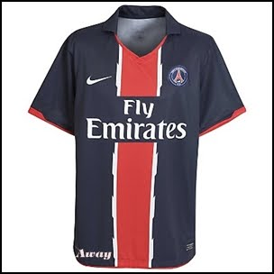 fc958f7b542 Jersiku: Sports 4 All: Paris Saint Germain Away Jersey 2010 / 2011