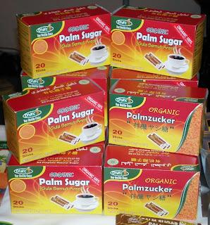table palm sugar