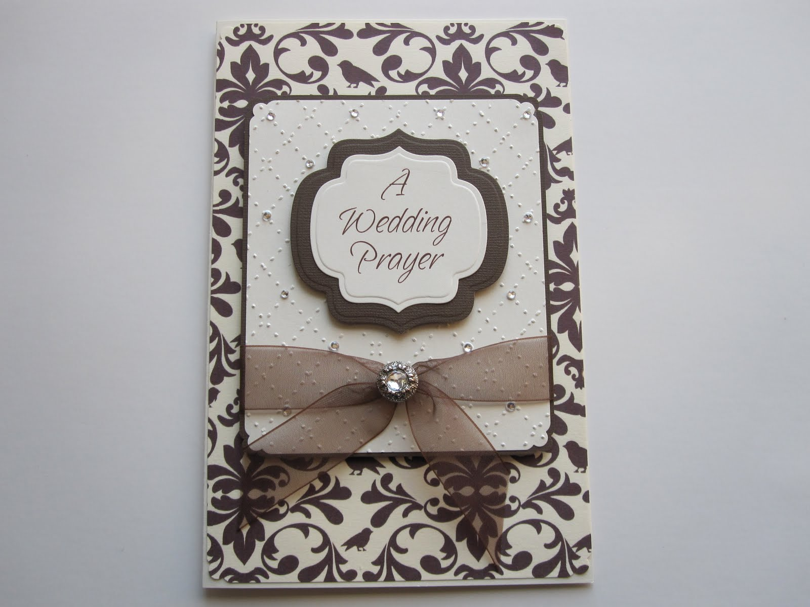 Wedding Gift Frame: -PAPERPASTIME: Wedding Gift-etched Frame And Card