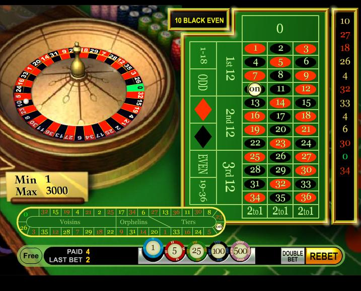 Free Roulette Games Online