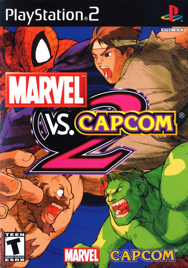 : [PS2] Marvel VS Capcom 2 New Age of Heroes [NTSC-U][Mediafire
