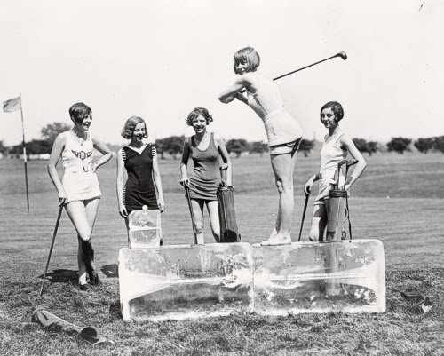 Vintage Golfing 63