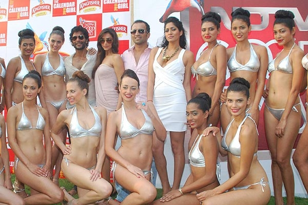 द श द न य Kingfisher Calendar 2011 Released