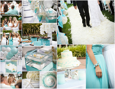 Tiffany Blue And Purple Wedding