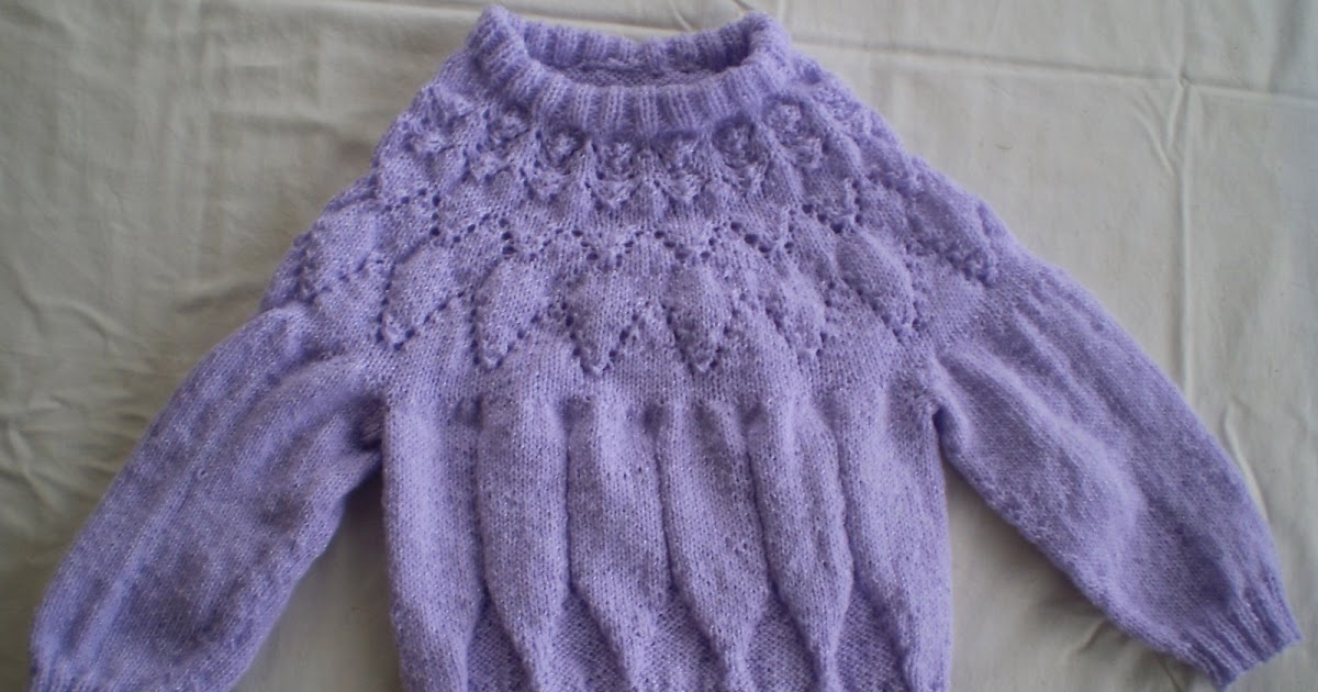 89d3c7f127275 never too hot to stitch!  How to knit a circular yoke sweater top down