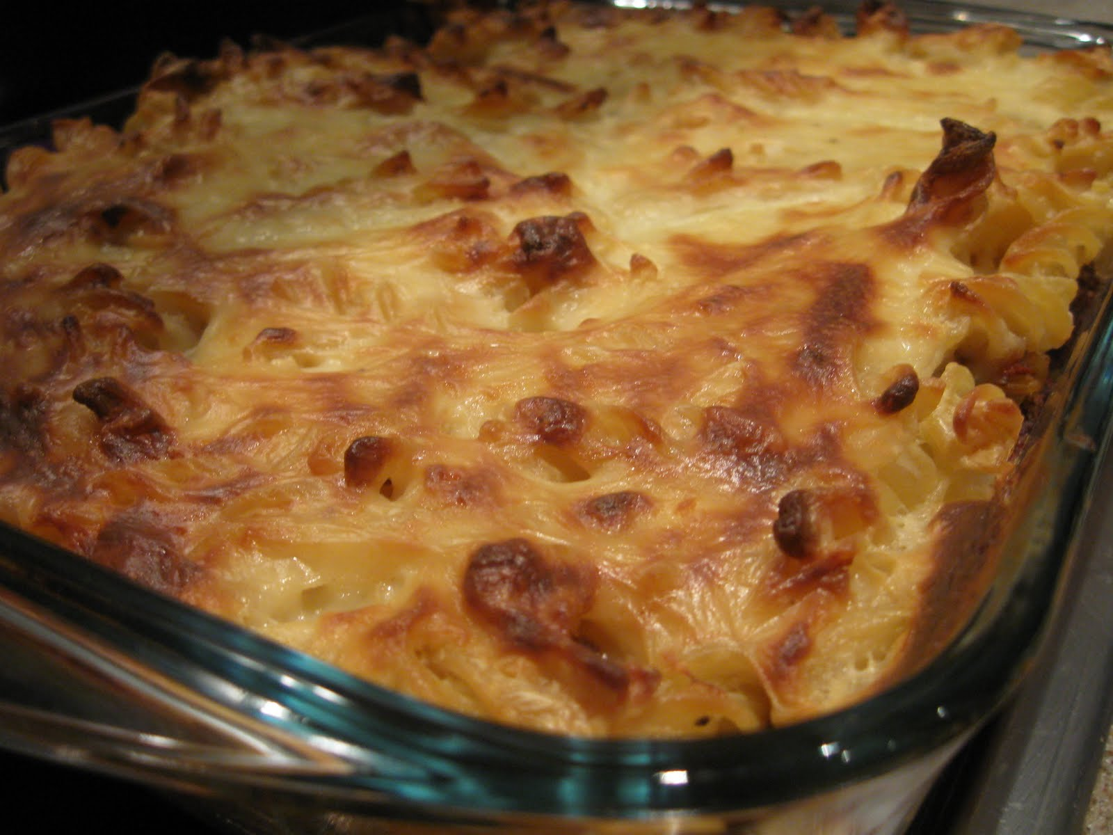 Beef and Feta Pasta Bake