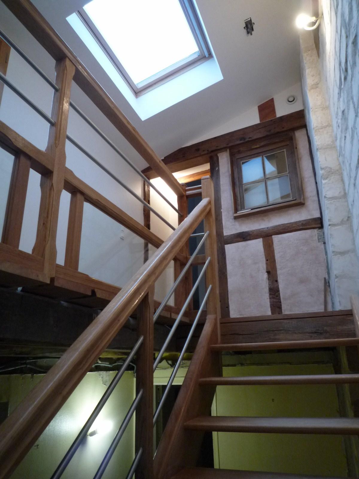 finition cage d 39 escalier septembre 2010 vive les travaux. Black Bedroom Furniture Sets. Home Design Ideas