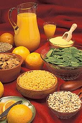 Good food sources of folate. Photo courtesy of USDA, ARS