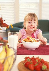 Calcium-fortified cereals improve kids calcium absorption without harming iron absorption