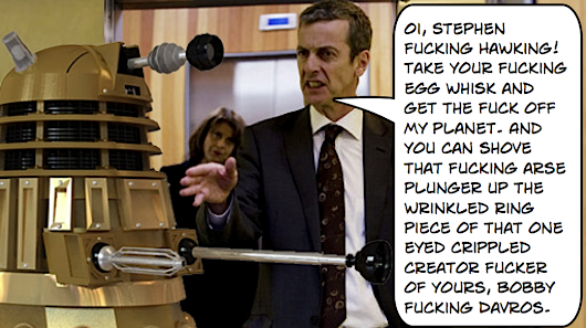 Why Malcolm Tucker Should Be The Next Dr. Who