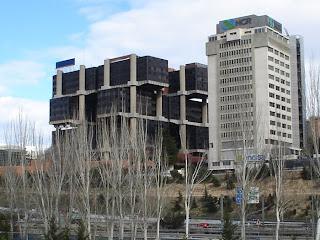El edificio de los cubos