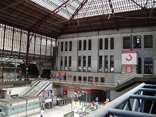 La Estación de metro de Principe Pio