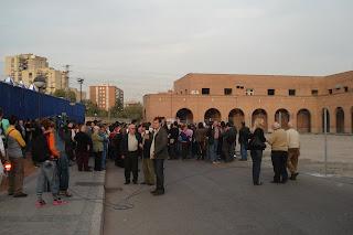 Hoy se han manifestado de nuevo los vecinos de Carabanchel