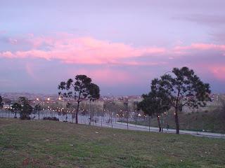 skyline de Madrid