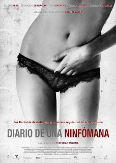 La EMT censura el cartel de la película diario de una ninfómana