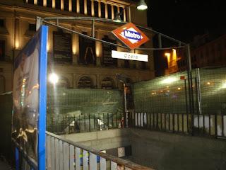 La nueva estación del metro de Opera