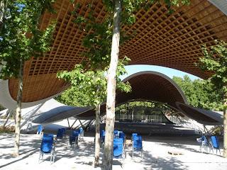 El auditorio del parque del Paraiso