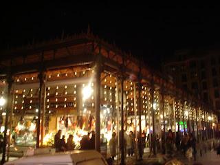 Las mil velas del mercado de San Miguel