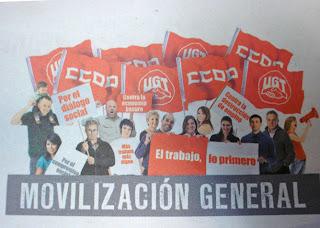 Los sindicatos se mueven el sábado por el trabajo