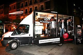 El bús del Rock está en Madrid