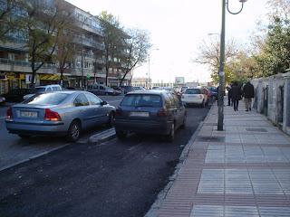 El carril bici de la Avenida Donostiarra y José del Hierro