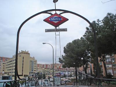 Metro de Antonio Machado y alrededores