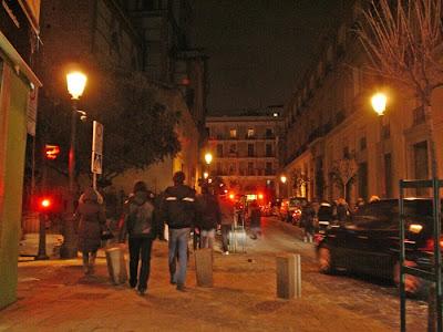 La Calle Huertas. Del campo a los literarios y al alcohol.