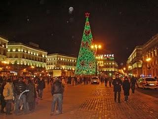 Iluminación de Navidad 2010 para las calles de Madrid