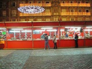 Mercadillo de Navidad de la Plaza Mayor 2010