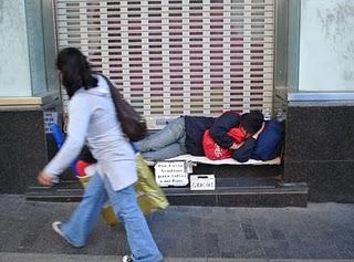 Campaña del Frío 2010 -  2011 en Madrid