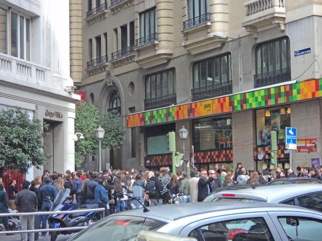 La foto de la semana. Tras la gala de los 40 principales en Madrid