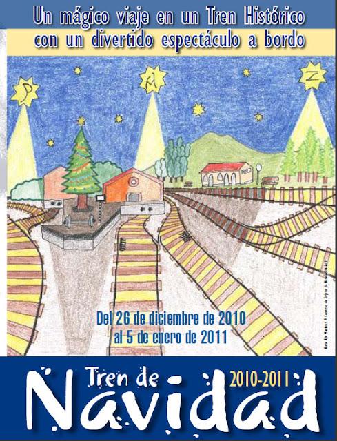 Planes para la Navidad con niños. El tren de la Navidad