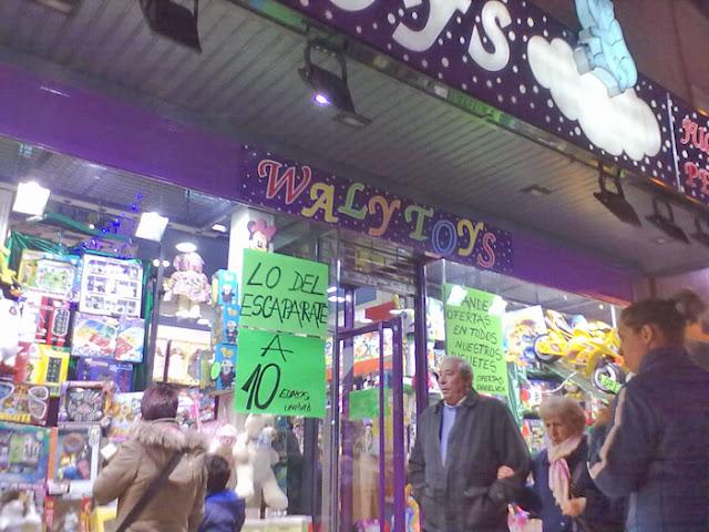 La moda de las tiendas outlet de juguetes en Madrid