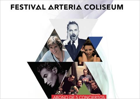 Concierto de Carlos Baute en el Festival Arteria Coliseum 2011