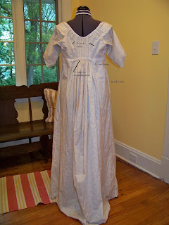 a frolic through time regency hand sewn drawstring dress a tour of