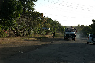 passing car wrong side nicaragua road