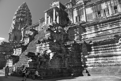 pre rup temple angkor wat the big steps