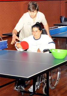Experiencing disabled sport in Asuncion