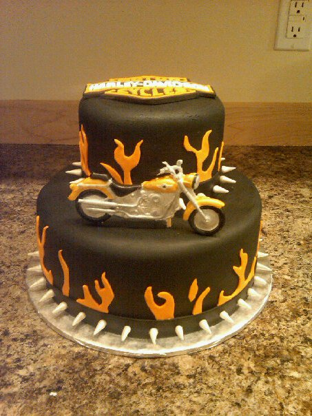 Custom Cakes By Denise Harley Davidson Birthday