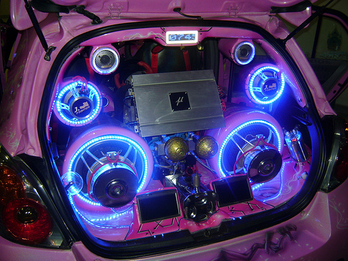 All About Modification Of Car And Motorcycle: Audio Custom