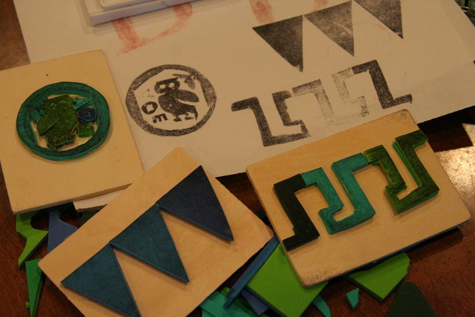 Via Joy - Greek Alphabet Stamps